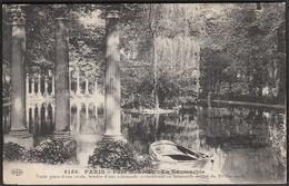 France Paris 1911 / Park Monceau - La Naumachie / Lake / Rowing Boat - Parks, Gardens