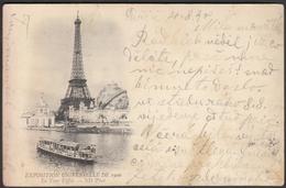 France Paris 1900 / Universal Exposition Exhibition / Eiffel Tower / Ship - Exhibitions