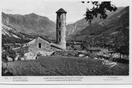 Andorre.. Sainte Coloma.. Belle Vue Du Clocher Roman - Andorre