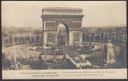 France Paris 1922 / Victory Fete (14 July 1919) The Pass Beneath The Triumphal Arc - Arc De Triomphe