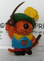 MONDOSORPRESA, (SC85LT51) FIGURA ISIDORO, POLISTIL VINTAGE ANNI 80, MOSCHETTIERE - Cartoons