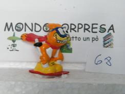 MONDOSORPRESA, (SC85LT68) FIGURA GARFIELD, SCIATORE - Cartoons