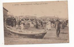 SETE - CETTE - La Plage Après Le Bain - Sete (Cette)