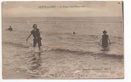 SETE - CETTE - La Plage Les Baigneuses - Sete (Cette)