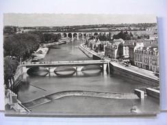 53 - LAVAL - PANORAMA DE LA MAYENNE ET DES QUAIS - Laval