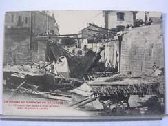54 - GUERRE EN LORRAINE 1914-15 - LES ALLEMANDS FONT SAUTER LE PONT DE MENIL AVANT DE QUITTER LUNEVILLE - ANIMEE - Luneville