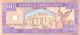 SOMALILAND 10 SHILLINGS 1996 P-2b UNC [ SOL102b ] - Somalia