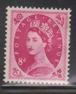 GREAT BRITAIN - Scott # 302 Mint Hinged  - QEII Definitive Issue - 1952-.... (Elizabeth II)