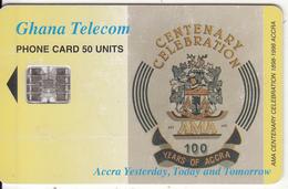 GHANA - Centenary Of Accra, 05/99, Used