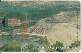 GHANA - Akosombo Dam, Antenna, 02/03, Used