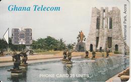 GHANA - Kwame Nkrumah Memorial Park/Accra, 07/01 Used