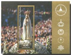 Luxembourg - 2017 - Centenary Of Fatima Apparitions - Joint Issue W Poland, Portugal And Slovakia - Mint Souvenir Sheet - Unused Stamps