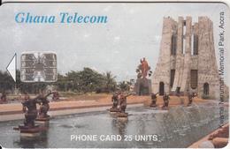 GHANA - Kwame Nkrumah Memorial Park/Accra, 10/99 Used