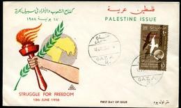 EGYPT PALESTINE Struggle For Freedom 1958 - Palestine