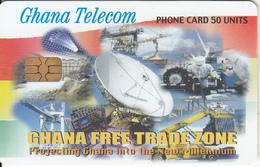 GHANA - Earth Station, Free Trade Zone, 11/03, Used - Ghana
