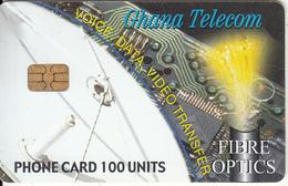 GHANA - Fibre Optics, Satellite Dish, 10/03, Used