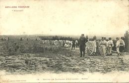 Artillerie Française - Service En Campagne D'artillerie - Repos                               -- Labouche 46 - Manoeuvres