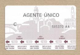 Transportes Porto - Portugal  Ticket - Europa