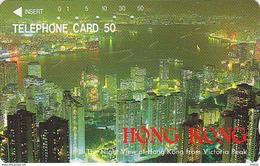 Télécarte Japon / 110-39976 - Site HONG KONG / CHINA - Night View From Victoria Peak Japan Phonecard Telefonkarte - 68 - Landscapes