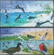 Kiribati, 2005, Mi. 967-78 (bl. 57, 58), Y&T 575-86, Sc. 869-70, SG 741, Birds, MNH - Marine Web-footed Birds
