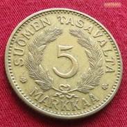 Finland 5 Markkaa 1941 Finlande Finlanda Finlandia   #2 - Finland