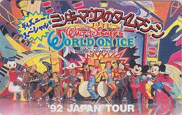 Télécarte Japon / 290-26506 - DISNEY ON ICE - Japan Phonecard Telefonkarte - Disney