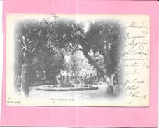 BISKRA - ALGERIE - CPA DOS SIMPLE RARE - Square Béchu - VAN - - Biskra