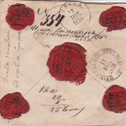 Russia  Postal History . Money Latter . Cimlyansk . Rostov Don Province . To Mount Athos - 1857-1916 Empire