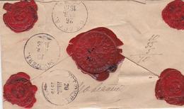 Russia  Postal History . Money Latter . Usyuzhna . Vologda Province . To Mount Athos . Delay In Departure In Usyuzhna - 1857-1916 Imperium
