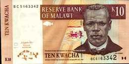 MALAWI 10 KWACHA Du 1-6-2004 Pick 51a  UNC/NEUF - Malawi