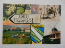 ROUTE DE CHAMPAGNE - France