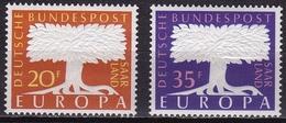 Saargebiet :1957 Europa CEPT MNH Set  Michel 402 / 403 - 1957-59 Bondsland