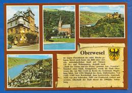 Deutschland; Oberwesel; Multibildkarte - Oberwesel