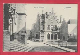 Halle - Postkantoor - 1912 ( Verso Zien ) - Halle
