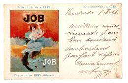 ILLUSTRATEUR . COLLECTION JOB . CALENDRIER 1895 . G. MEUNIER - Réf. N°251 - - Meunier, G.