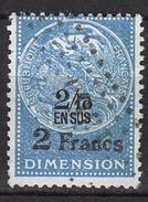 FRANCE  - FISCAL DIMENSION - 2 Francs -  / FD57 - Fiscales
