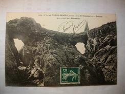 Carte Postale L'Ile De Pierre-Percée (44) Dite L'Ile Aux Mouettes  (CPA Oblitérée 1908  Timbre 5 Centimes ) - France