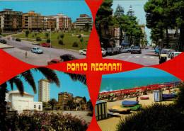 PORTO  RECANATI   (MC)    VEDUTE       (VIAGGIATA) - Altre Città