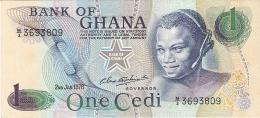 GHANA   1 Cedi   2/1/1978   P. 13d   AUNC / UNC - Ghana