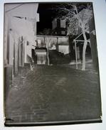 Sidi Bou Saïd Le Café Des Nattes Début 1900 - Tunisie Afrique - Négatif Sur Plaque De Verre  9X12cm Env - Plaques De Verre