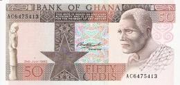 GHANA   50 Cedis   2/7/1980   P. 22b   UNC - Ghana