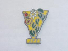 Pin's FLEURS J.P.F. - Pin