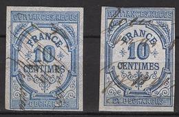FRANCE  - LOT 2 FISCAUX /  QUITTANCES RECUS - 10 CENT -  / FD170 - Revenue Stamps