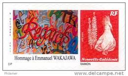 Nouvelle Caledonietimbre Personnalise Prive Association Caledonienne Handicapes Poeme Poesie Wakajawa Handicap 2012 - Unclassified