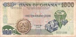 GHANA   1000 Cedis   22/2/1991   P. 29a - Ghana