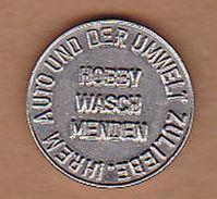 AC -  HOBBY WASCH MENDEN IHREN AUTO UND DER UMWELT ZULIEBE KARCHER CLEAN PARK TOKEN JETON - Monetary/Of Necessity