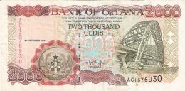 GHANA   2000 Cedis   5/12/1996   P. 33a - Ghana