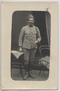 CARTE PHOTO  - Prisonnier En Allemagne  -  1919 - Personen