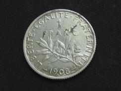 1 Franc Semeuse 1908  **** EN ACHAT IMMEDIAT **** - Frankreich