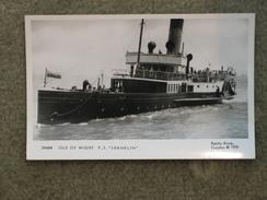 PADDLE STEAMER SHANKLIN, MODERN PAMLIN PRINT CARD - Ferries